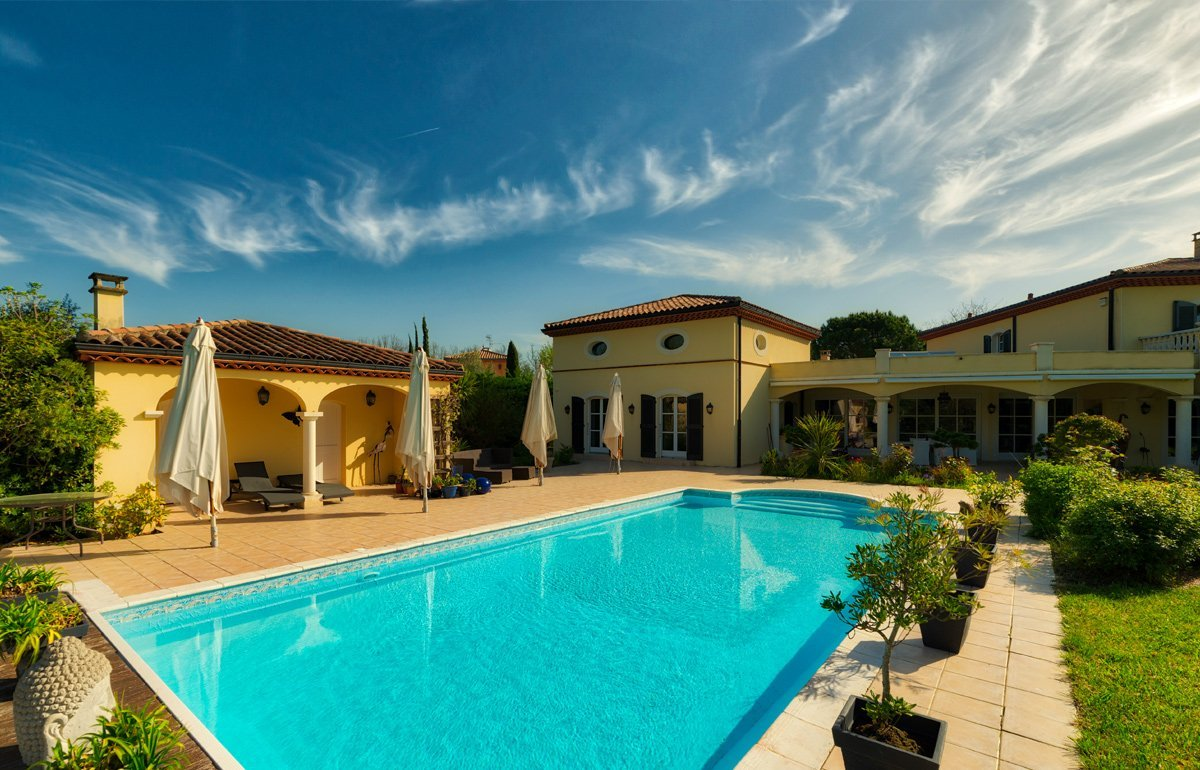 Photographie property pool