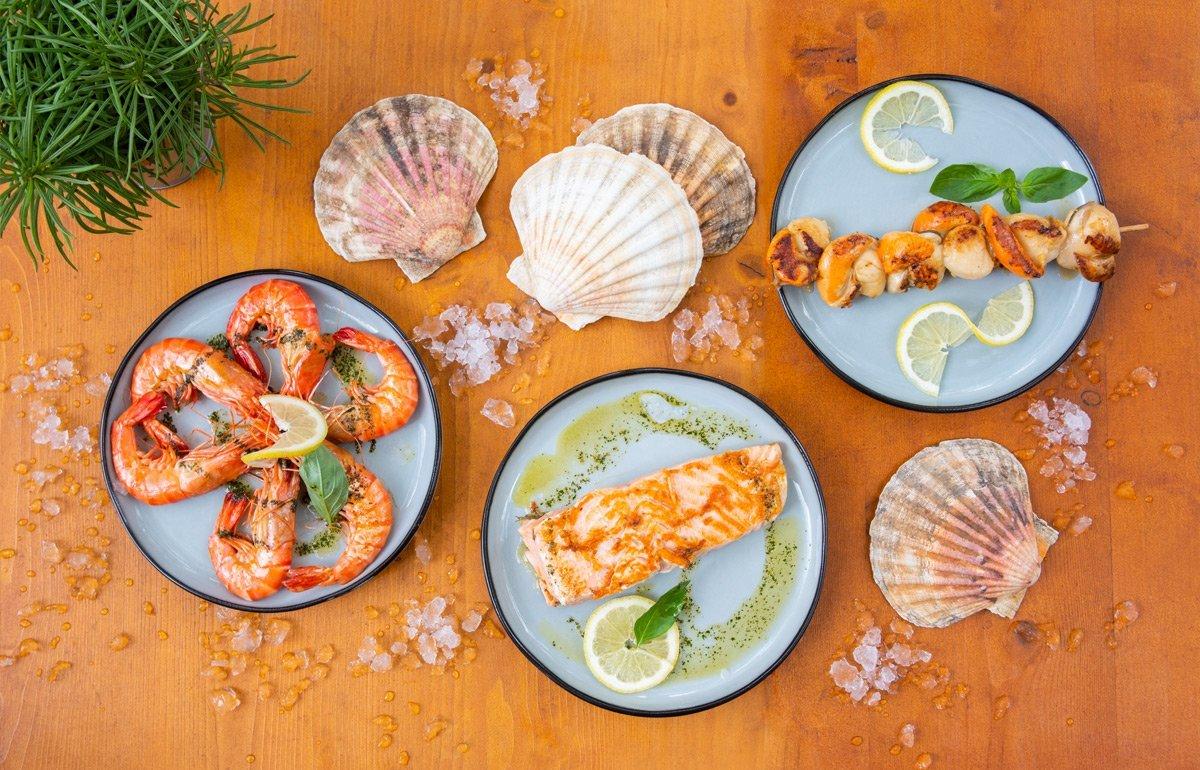 Restaurant Gastronomie Fruits de mer