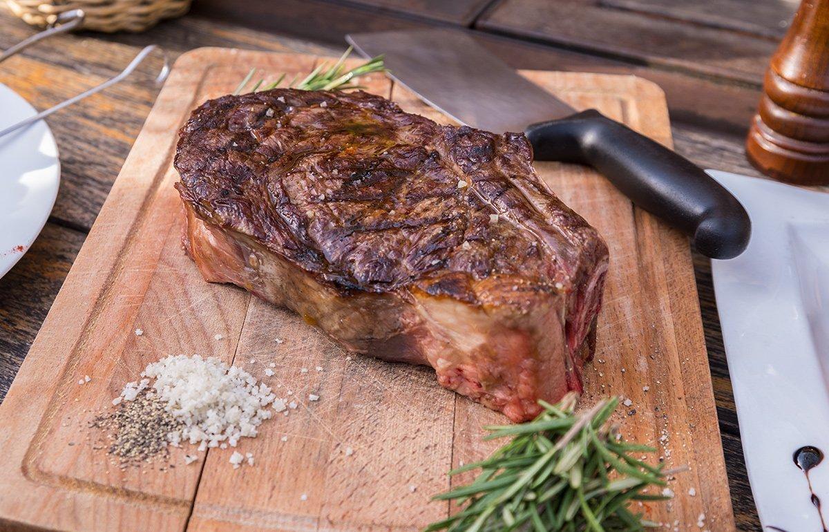 Photographie culinaire - cote de boeuf