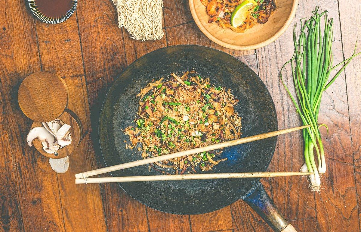 Wok food
